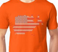 Dot Matrix USA 4th July Unisex T-Shirt