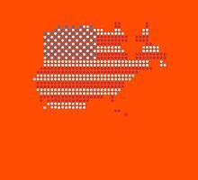 Dot Matrix USA 4th July Unisex T-Shirt