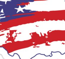 Graffiti America Sticker