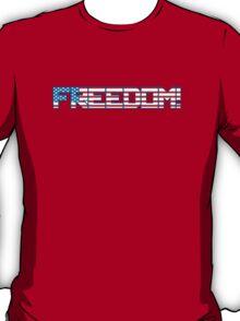 Freedom Flag 4th July T-Shirt