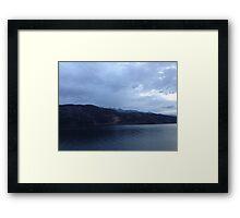 Lake Millerstaat  Framed Print