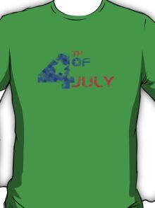 4th July Grunge T-Shirt