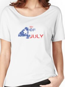 4th July Grunge Women's Relaxed Fit T-Shirt
