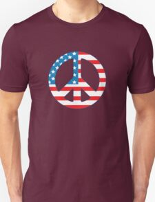 4th July Peace T-Shirt