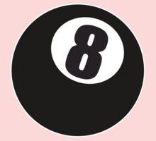 8 Ball One Piece - Short Sleeve
