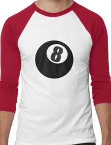 8 Ball Men's Baseball ¾ T-Shirt
