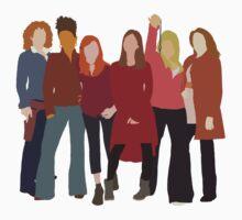 The Women of Doctor Who  by carrieclarke