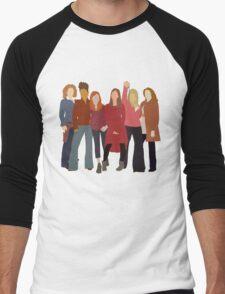 The Women of Doctor Who  Men's Baseball ¾ T-Shirt