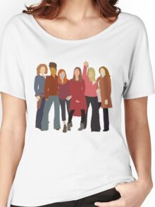 The Women of Doctor Who  Women's Relaxed Fit T-Shirt