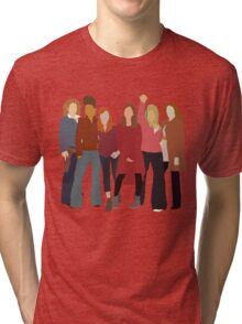 The Women of Doctor Who  Tri-blend T-Shirt