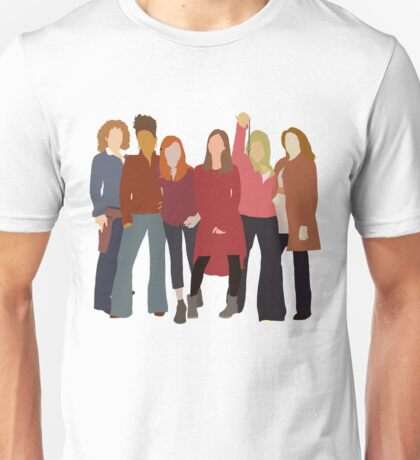 The Women of Doctor Who  Unisex T-Shirt