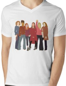 The Women of Doctor Who  Mens V-Neck T-Shirt