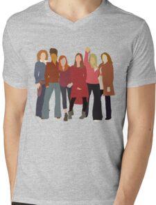 The Women of Doctor Who  Mens V-Neck T-Shirt