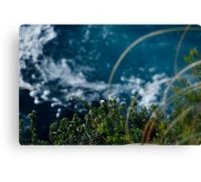 cliff edge Canvas Print