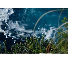 cliff edge Photographic Print