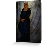 Medieval Maiden #8 Greeting Card