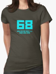 Let's 68! Womens Fitted T-Shirt