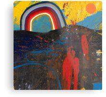 Number 2 (Rainbow Series) Metal Print
