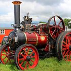 Evedon Lad Traction Engine by Avril Harris