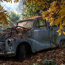 Old Rusty Car by djzontheball