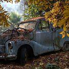 Old Rusty Car by djzontheball