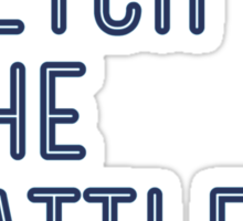 Darling, Fetch the Battle Axe (DFTBA) Sticker
