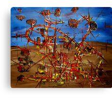 """""""Amusement Park"""" Canvas Print"""