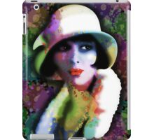 Girl's Twenties Vintage Glamour Art Portrait iPad Case/Skin