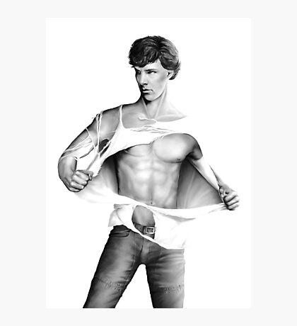 Sexy Benedict Cumberbatch / Sherlock V3 Photographic Print