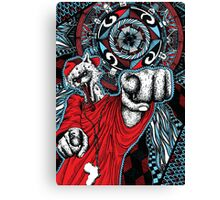Hyena Hype Canvas Print