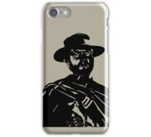The man with no name iPhone Case/Skin