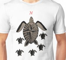 Turtle Compass Unisex T-Shirt