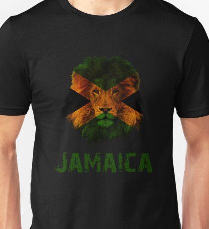 Lion Jamaica Unisex T-Shirt