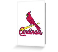 st louis cardinal Greeting Card