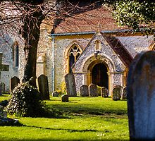 St Mary's Church Kintbury Berkshire by mlphoto