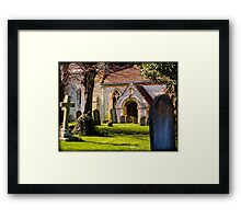 St Mary's Church Kintbury Berkshire Framed Print