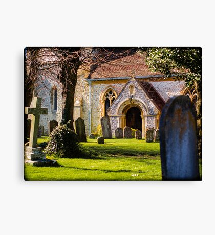 St Mary's Church Kintbury Berkshire Canvas Print