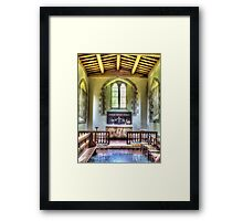 St Swithuns Church Combe Framed Print