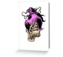 Shrunken Leela Greeting Card