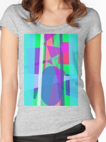 Blue Curtain Women's Fitted Scoop T-Shirt