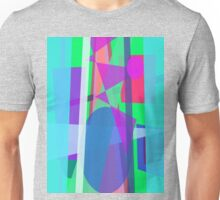 Blue Curtain Unisex T-Shirt