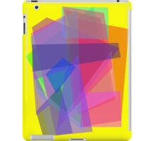 Transparency Yellow iPad Case/Skin