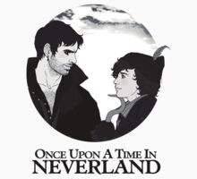 The Usual Neverland Rivalry (b&w) by mutantrentboy