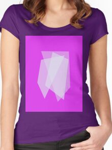 Three Quadrangles Women's Fitted Scoop T-Shirt