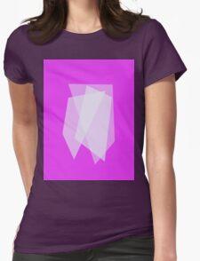 Three Quadrangles Womens Fitted T-Shirt