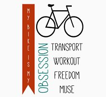 Bicycle obsession Unisex T-Shirt