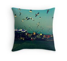 Happiness is...outdoor activities a week...Got Featured Work:) Throw Pillow