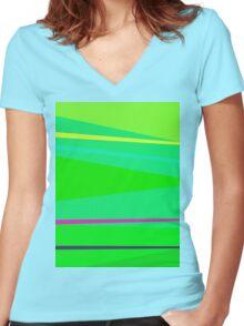 Chopsticks Women's Fitted V-Neck T-Shirt