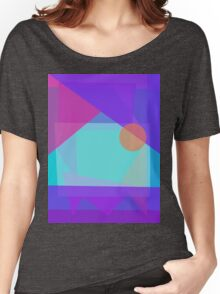 Setting Sun behind the Mountain Women's Relaxed Fit T-Shirt