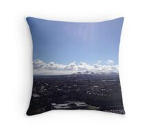A view to the Pentland Hills from Calton Hill, Edinburgh #2 Throw Pillow
